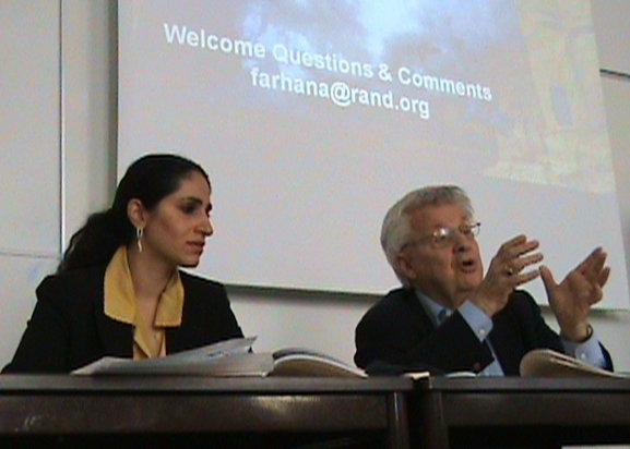 Farhana Ali and Jerrold Post, ISPP meeting, Sciences Po, Paris, July 12, 2008.