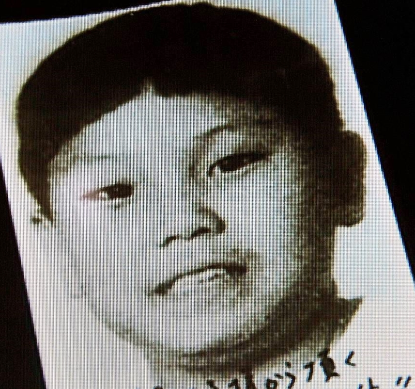 A boy identified by South Korean TV station KBS as Kim Jong Un, the third son of North Korean leader Kim Jong Il, is seen in this screen grab. (Photo: Kenji Fujimoto / Reuters)