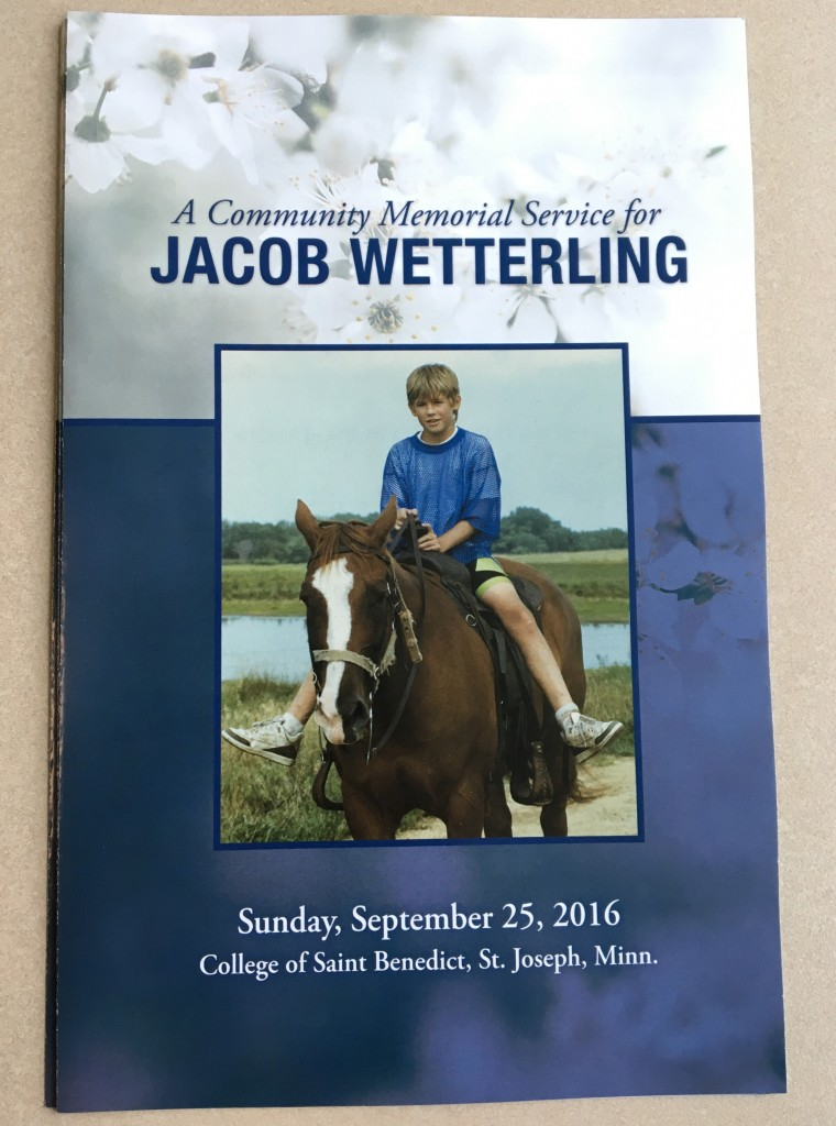 wetterling_memorial-service_program